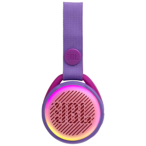 Купить Беспроводная акустика JBL Jr Pop Iris Purple в каталоге интернет магазина М.Видео по выгодной цене с доставкой, отзывы, фотографии - Москва