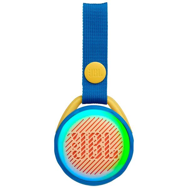Купить Беспроводная акустика JBL Jr Pop Cool Blue в каталоге интернет магазина М.Видео по выгодной цене с доставкой, отзывы, фотографии - Москва