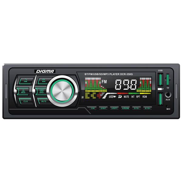 USB-Автомагнитола Digma DCR-350G