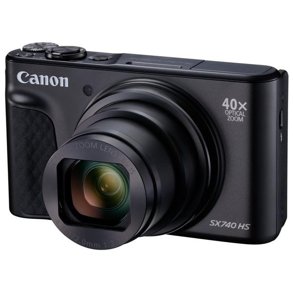 Фотоаппарат компактный Canon — PowerShot SX740 HS Black