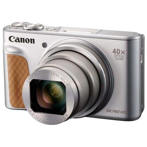 Фотоаппарат компактный Canon PowerShot SX740 HS Silver