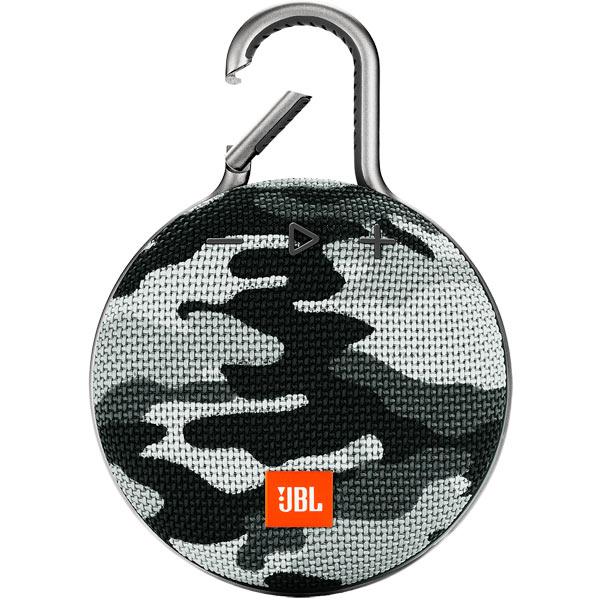 Купить Беспроводная акустика JBL Clip 3 Arctic Camouflage в каталоге интернет магазина М.Видео по выгодной цене с доставкой, отзывы, фотографии - Москва