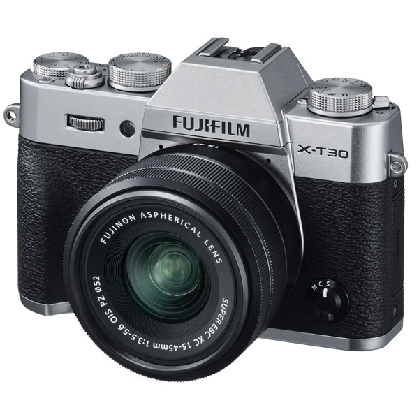 Фотоаппарат системный премиум Fujifilm X-T30 Kit 15-45 Silver