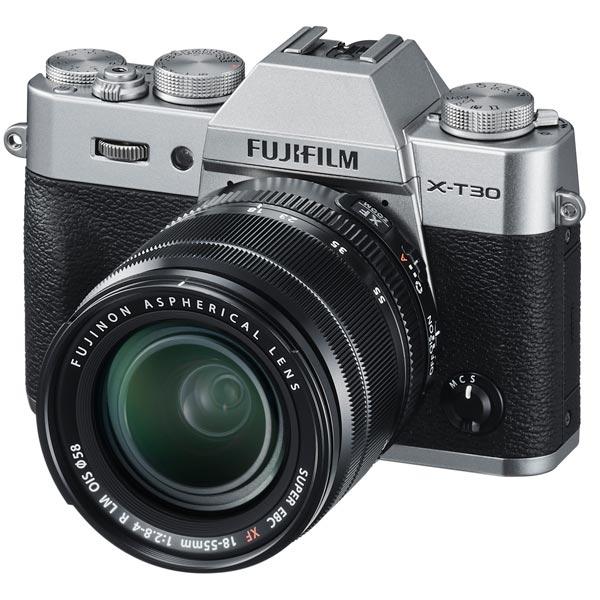 Фотоаппарат системный Fujifilm X-T30 Kit 18-55 Silver