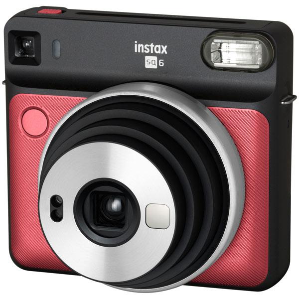 Фотоаппарат моментальной печати Fujifilm — INSTAX SQ 6 RUBY RED EX D