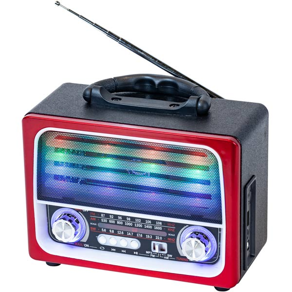 Радиоприемник MAX MR-390 Red