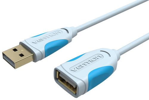 Кабель для компьютера Vention USB2.0 папа/мама 3м Gray (VAS-A05-S300)
