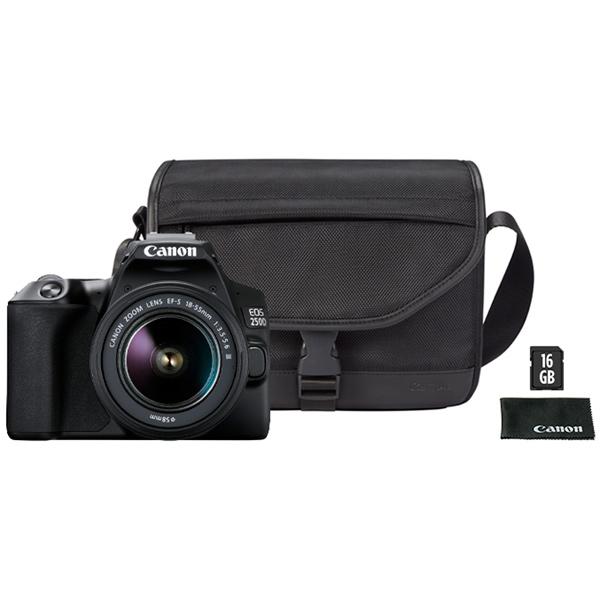 Фотоаппарат зеркальный Canon — EOS 250D 18-55 + сумка + карта 16GB