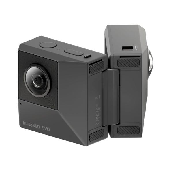 Видеокамера экшн Insta360 EVO 3D/2D Convertible 360/180 VR (CINEVOX/A)
