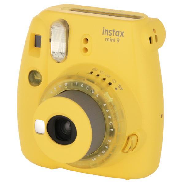 Фотоаппарат моментальной печати Fujifilm INSTAX MINI 9 CLEAR YELLOW
