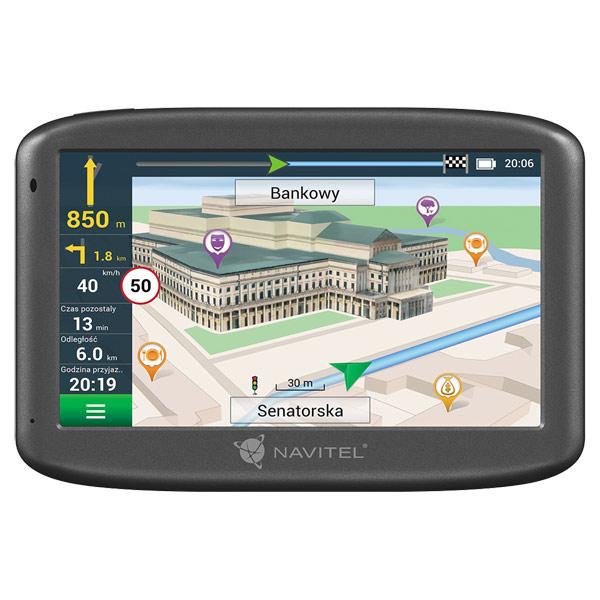 Портативный GPS-навигатор Navitel E505 Magnetic