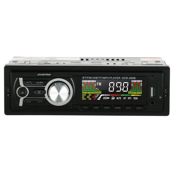 USB-Автомагнитола Digma DCR-360 Blue
