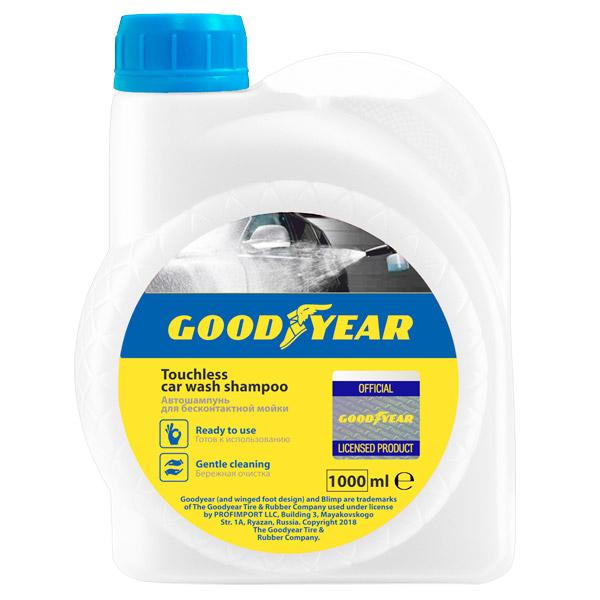 Средства для ухода за автомобилем Goodyear GY000802 1л автошампунь б/к мойка