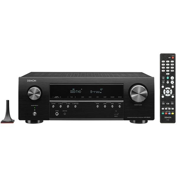 Ресивер Denon AVR-S650H Black