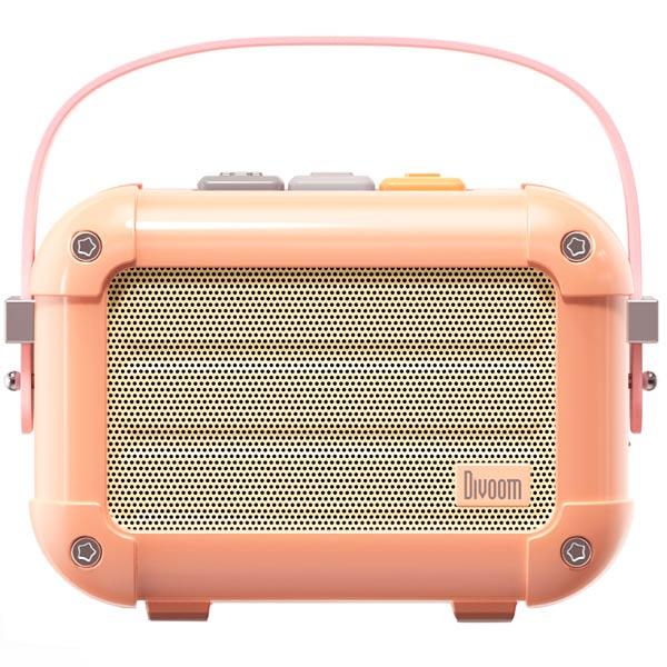 Портативная акустика Divoom Macchiato Pink