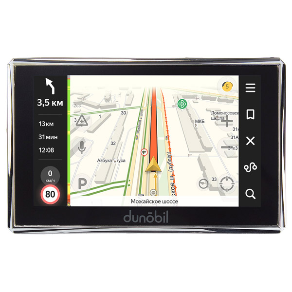Портативный GPS-навигатор Dunobil Consul 5.0 Parking Monitor