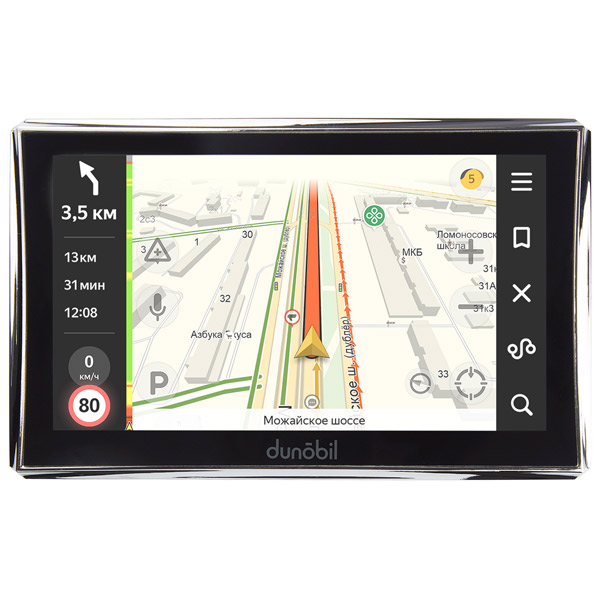 Портативный GPS-навигатор Dunobil Consul 7.0 Parking Monitor