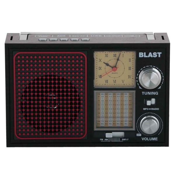 Радиоприемник Blast BPR-912 Black фото