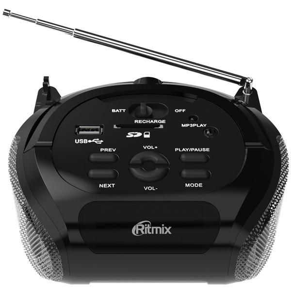 Магнитола Ritmix — RBB-100 Black
