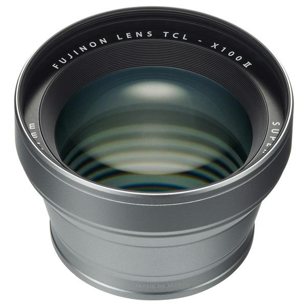 Адаптер для объективов (переходник) Fujifilm TCL-X100 II Silver серебристого цвета