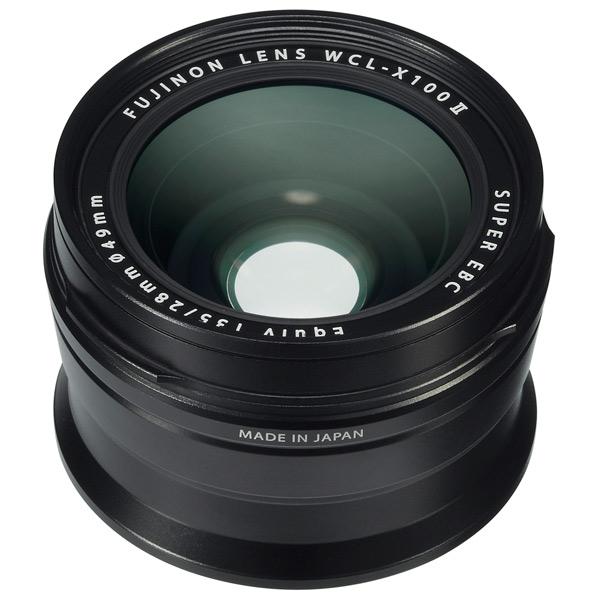 Адаптер для объективов (переходник) Fujifilm — WCL-X100 II Black