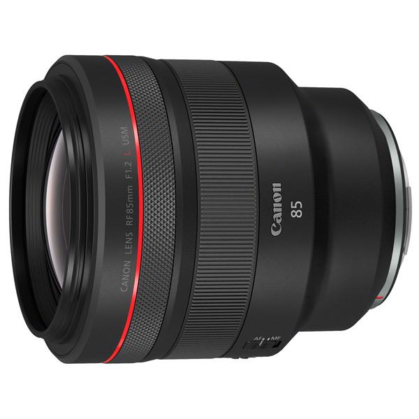 Объектив Canon RF 85mm F1.2 L USM черного цвета