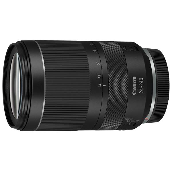 Объектив Canon RF 24-240 F4-6.3 IS USM черного цвета