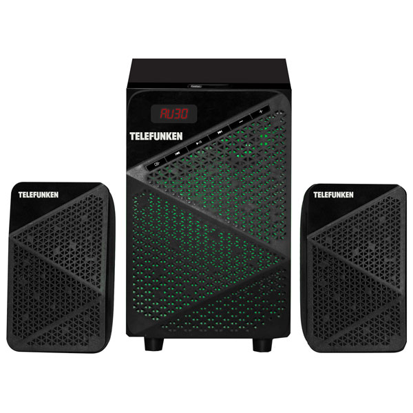 Музыкальный центр Micro Telefunken TF-MSM2.104 Black