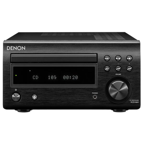 CD-плеер с ресивером Denon RCD-M41 Black