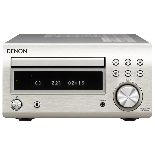 CD-плеер с ресивером Denon — RCD-M41 Silver