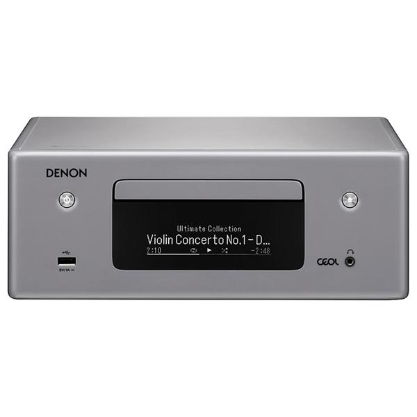 CD-плеер с ресивером Denon — RCD-N10 Grey