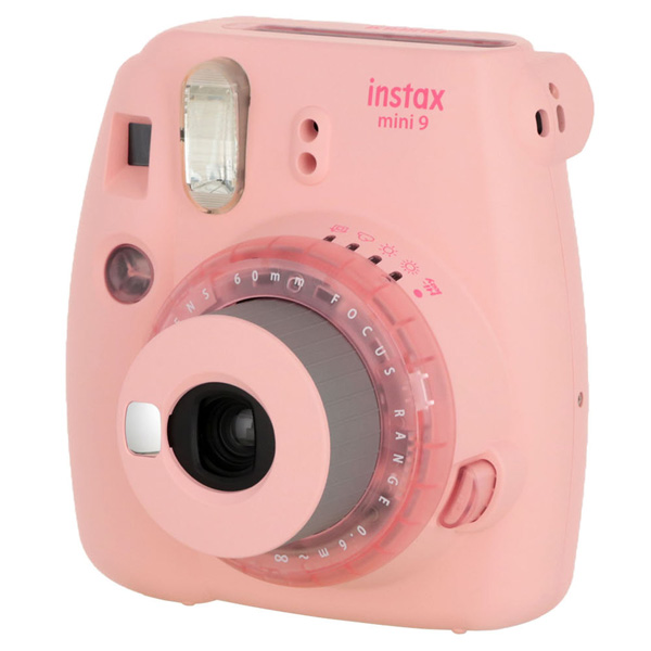 Фотоаппарат моментальной печати Fujifilm — INSTAX MINI 9 CLEAR PINK