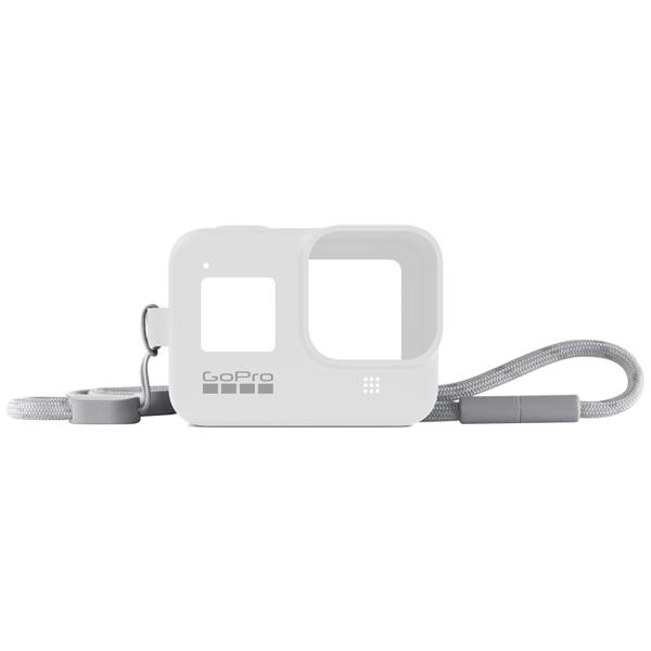 Аксессуар для экшн камер GoPro Sleeve + Lanyard HERO8 White (AJSST-002) белого цвета
