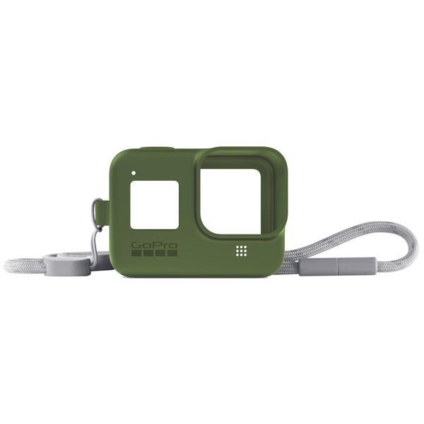 Аксессуар для экшн камер GoPro, Sleeve + Lanyard HERO8 Green (AJSST-005)  - купить со скидкой