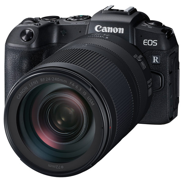 Фотоаппарат системный премиум Canon EOS RP+ RF24-240mm F4-6,3 IS USM