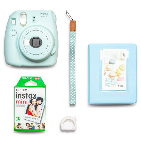 Фотоаппарат моментальной печати Fujifilm INSTAX MINI 9 PINK SMILE SET