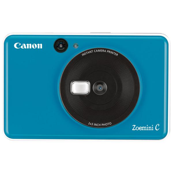 Фотоаппарат моментальной печати Canon Zoemini C Seaside Blue (CV-123-SSB)