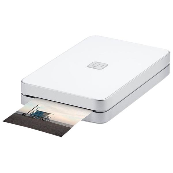 Компактный фотопринтер Lifeprint 2x3 White