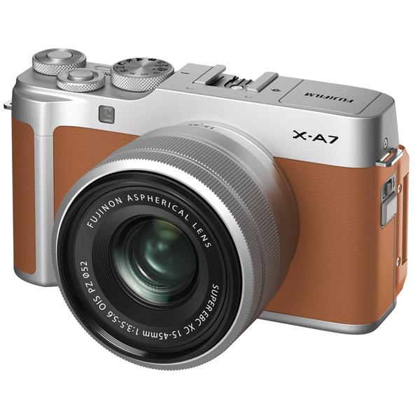 Фотоаппарат системный Fujifilm — X-A7 15-45 Camel