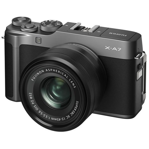 Фотоаппарат системный Fujifilm X-A7 15-45 Dark Silver