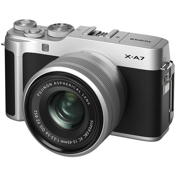 Фотоаппарат системный Fujifilm — X-A7 15-45 Silver