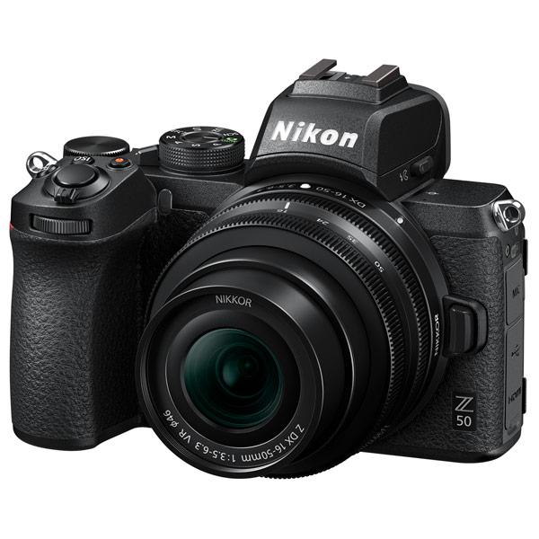 Фотоаппарат системный Nikon Z 50 + NIKKOR Z DX 16-50mm f/4.5-6.3 VR