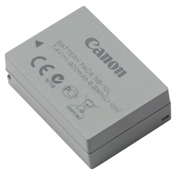 Аккумулятор для цифрового фотоаппарата Canon NB-10L
