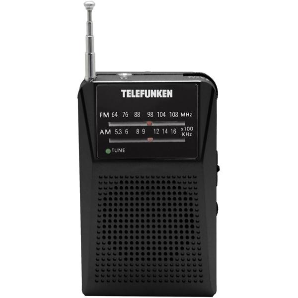 Радиоприемник Telefunken TF-1641 Black черного цвета