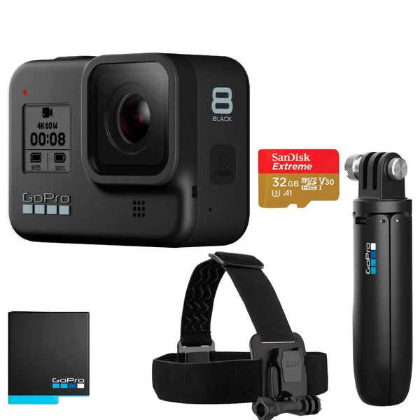 Видеокамера экшн GoPro HERO8 Black Special Bundle (CHDRB-801)