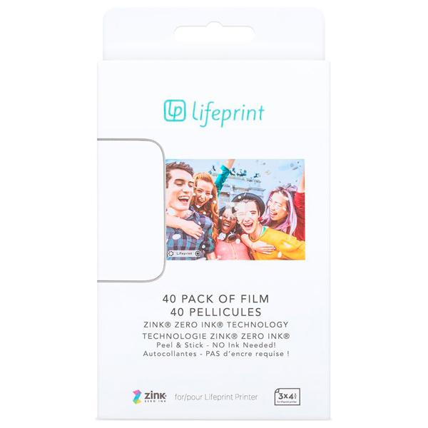 Фотобумага Lifeprint 3x4.5 - 40 Pack