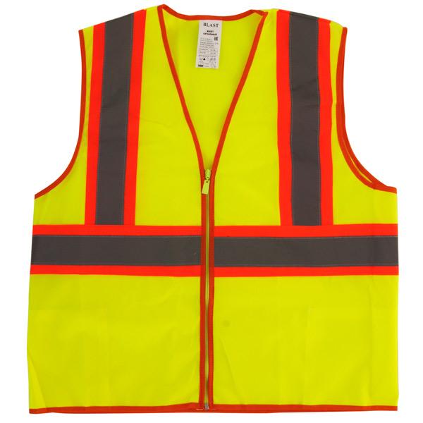Автомобильный аксессуар Blast Жилет сигнальный Тип 6 цвет оранжевый/желтый