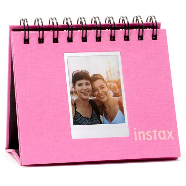Альбом Fujifilm INSTAX MINI 9 FLIP ALBUM FLAMINGO PINK розового цвета