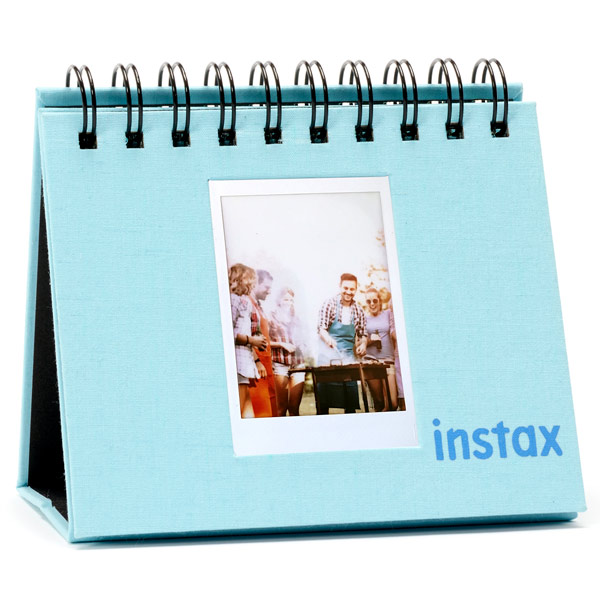 Альбом Fujifilm INSTAX MINI 9 FLIP ALBUM ICE BLUE бирюзового цвета