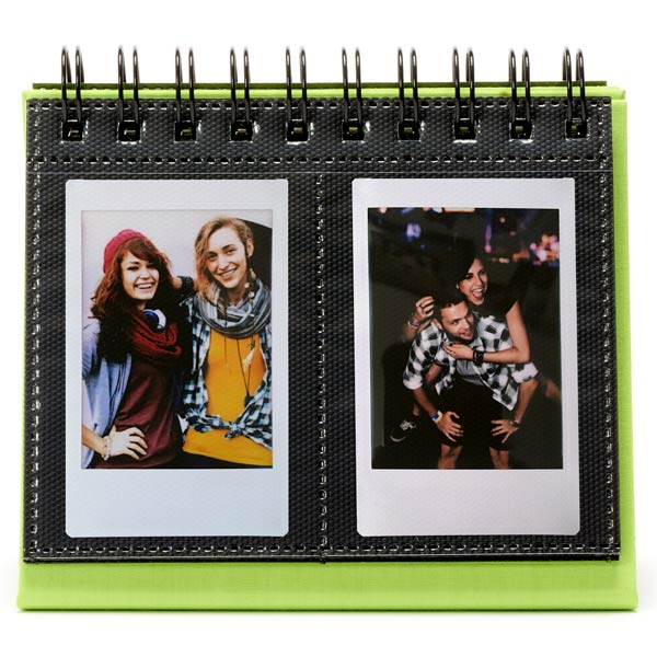 Альбом Fujifilm INSTAX MINI 9 FLIP ALBUM LIME GREEN зеленого цвета